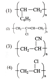 Which of the following structures represnts neoprene polymer