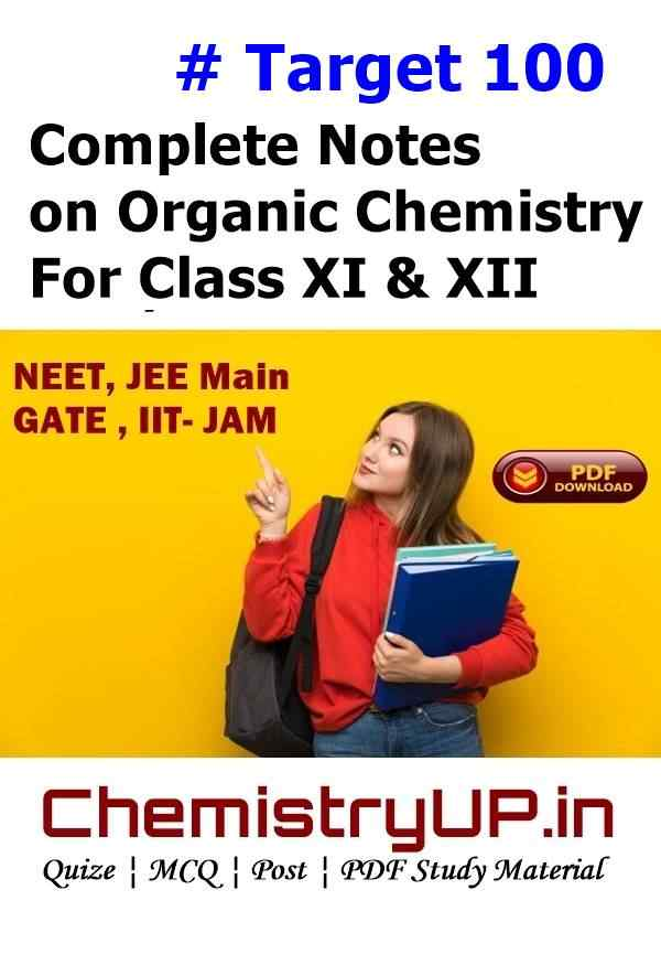 Complete Short Notes on Organic Chemistry