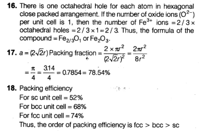 NEET Chemistry Chapter Wise Mock Test – Solid State