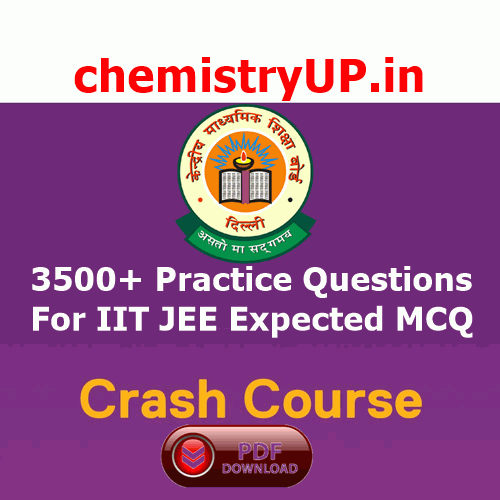 Practice Questions For IIT JEE Expected MCQ PDF