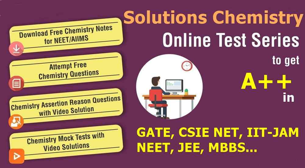 Solutions Chemistry Free Mock Test