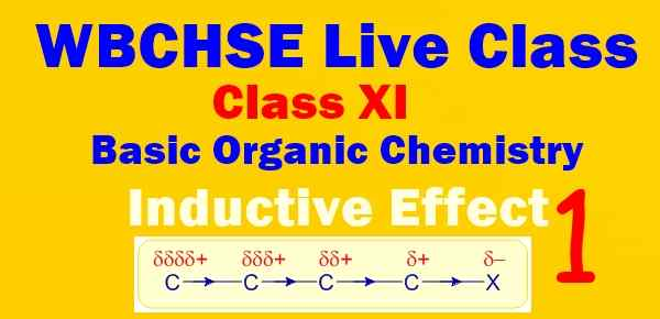 WBCHSE Live Class Inductive Effect Video Study Material Notes