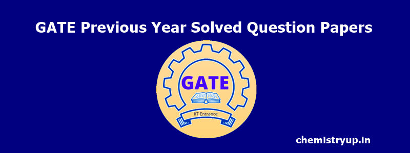 GATE Previous Year Solved Question Papers pdf