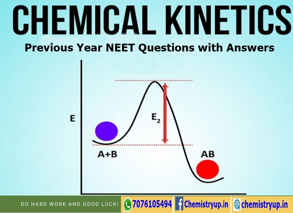 Chemical Kinetics NEET Questions With Answers