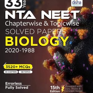 Disha NEET Chapterwise and Topicwise Solved Papers BIOLOGY